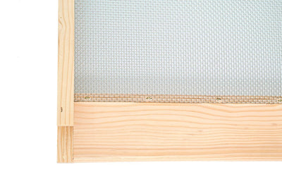 Douglas fir screened bottom board
