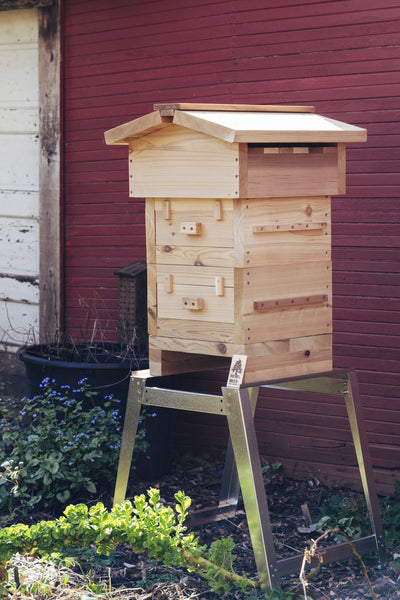 Universal hive stand - with Warre hive
