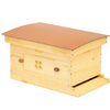 Deep Standard Langstroth for beekeeping with copper composite roof