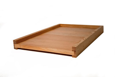 Langstroth hive solid bottom board made from douglas fir