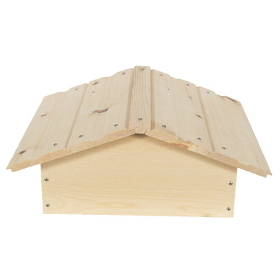 warre hive peaked roof made from sugar pine