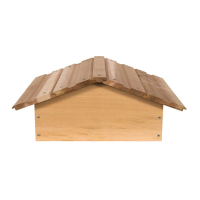 warre hive peaked roof made from western red ceder