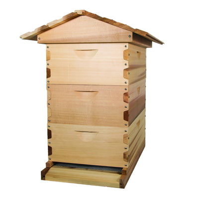 Medium beehive kit made from western red ceder