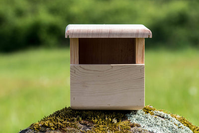 Wren birdhouse made from Douglas Fir