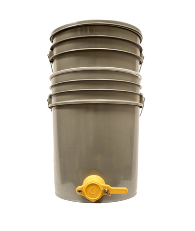 Beekeeping Bucket Strainer with mesh bag for honey harvest