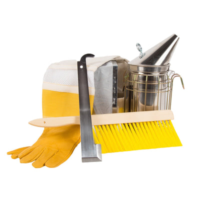 Beekeeping starter kit tools