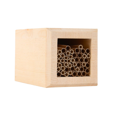 square mason bee house