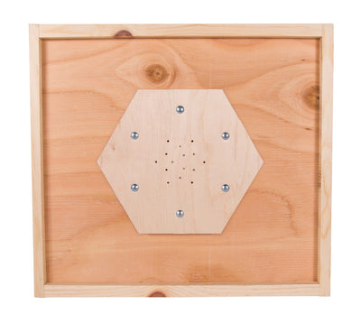 6 way bee escape board
