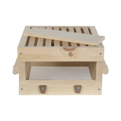 Factory second sugar pine warre hive box with top bars