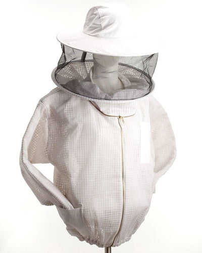 Ventilated jacket with hat and veil