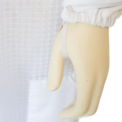 ventilated full body bee suit hand strap