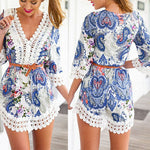 Lace Crochet Beach Dress Cover Up - Surf Gypsy