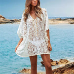 White Lace Swimsuit Cover Up - Surf Gypsy