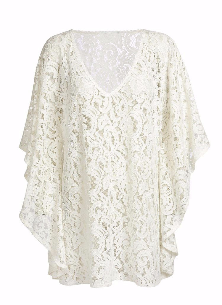 182863ab013e1 White Lace Swimsuit Cover Up – Shop Surf Gypsy