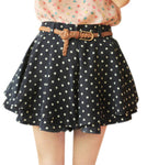 High Waist Polka Dot Print Shorts - Surf Gypsy