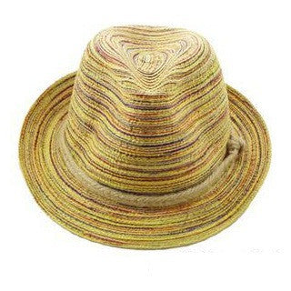Colorful Straw Sunhat - Surf Gypsy