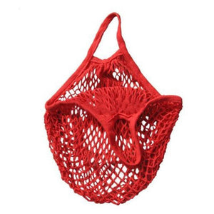 Mesh Net Woven Cotton Beach Bag - Surf Gypsy