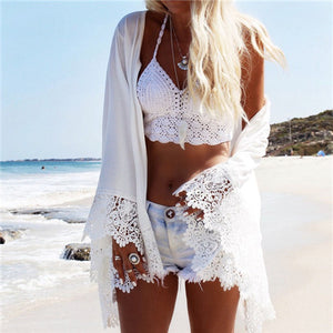 Summer Blouse With Hawk Detail - Surf Gypsy