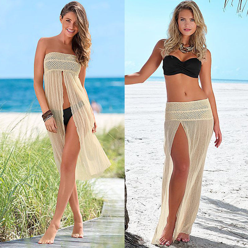 Sleeveless Mesh Beach Cover Up - Surf Gypsy