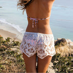 Casual Lace Embroidered Beach Shorts - Surf Gypsy