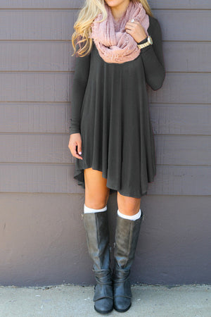 Long Sleeve Mini Dress - Surf Gypsy