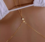 Gold Star Body Harness, Belly Chain - Surf Gypsy