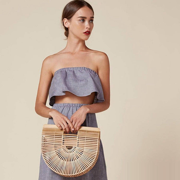 Luxury Designer Bamboo Handbag - Surf Gypsy