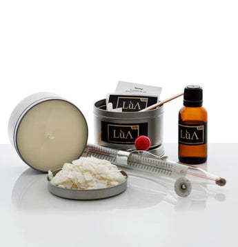 Lua | Scented Soy Candles DIY Kit