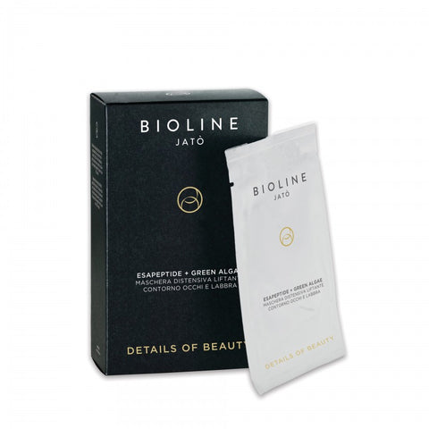 BIOLINE DETAILS OF BEAUTY EsaPeptide + Green Aigae Lifting Relaxing Mask (Eyes & Lip)5x15ml