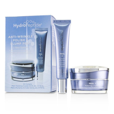 HYDROPEPTIDE Peel Polish & Plump Peel Travel Kit 2x15ml