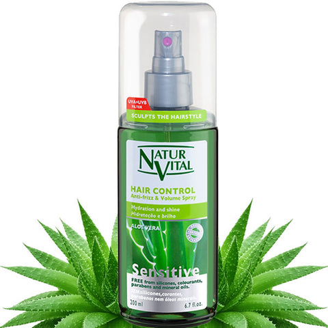 NATUR VITAL Hair Control Anti-Frizz & Volume Spray 200ml