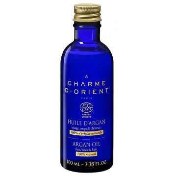 CHARME D'ORIENT Organic Argan Oil Desodorized 100ml