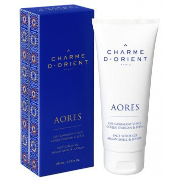 CHARME D'ORIENT Face Exfoliating Gel with Argan Shells 100ml