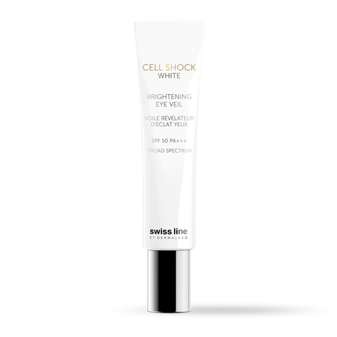 SWISSLINE CELL SHOCK WHITE Brightening Eye Veil SPF50 15ml