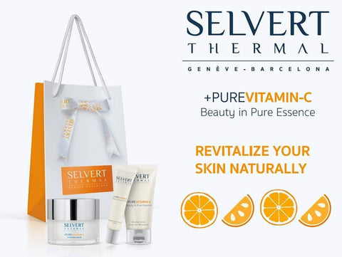 SELVERT THERMAL +PUREVITAMIN-C Gift Set + Free Umbrella