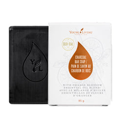 YOUNG LIVING Charcoal Bar Soap 85g