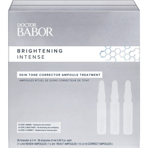 BABOR DOCTOR BABOR - BRIGHTENING INTENSE Skin Tone Corrector Ampoule Treatment 28x2ml