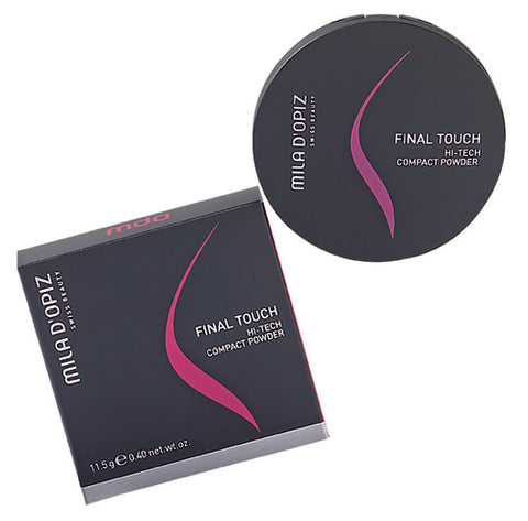 MILA D'OPIZ FINAL TOUCH Hi-Tech Compact Powder 11.5g - No. 20 / No. 30