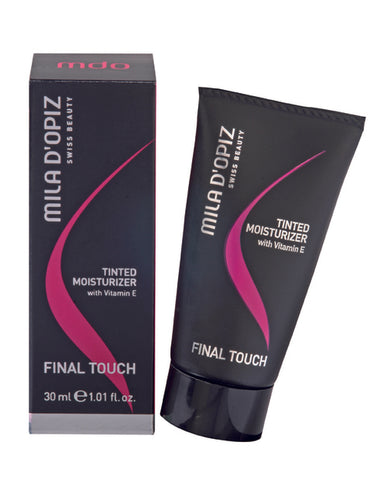 MILA D'OPIZ FINAL TOUCH Tinted Moisturizer 30ml - No. 20 / No. 30
