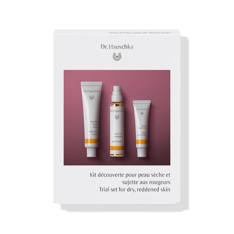 DR. HAUSCHKA Trial Set for Dry Reddened Skin