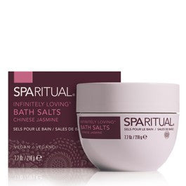 SPARITUAL Infinitely Loving Bath Salts - Jasmine 7.7oz