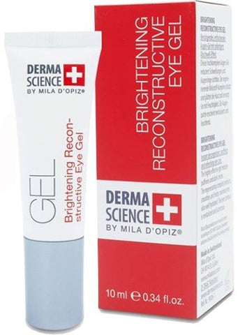 MILA D'OPIZ DERMA SCIENCE Brightening Reconstructive Eye Gel 10ml