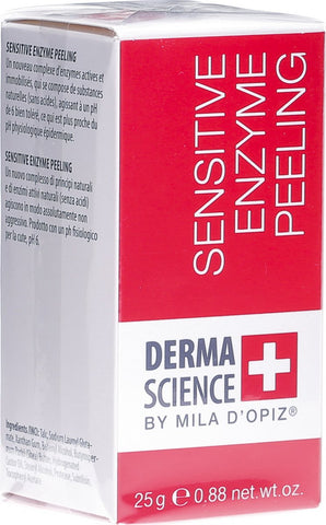MILA D'OPIZ DERMA SCIENCE Sensitive Enzyme Peeling 25g