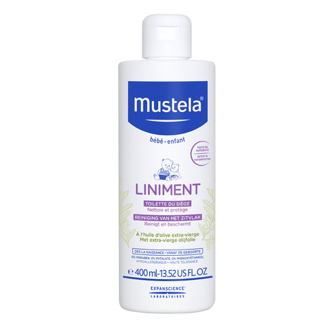 MUSTELA Liniment (Diaper Change Cleanser) 400ml