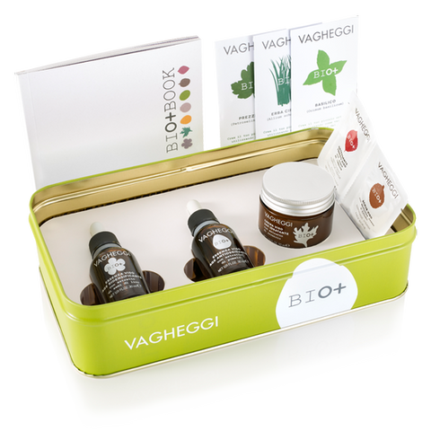 VAGHEGGI BIO+ Tin Box Green - Redensifying / Anti- Oxidant