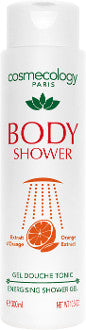 COSMECOLOGY Energizing Shower Gel (Orange Extract) 300ml