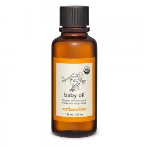 ERBAVIVA Organic Baby Oil 125ml