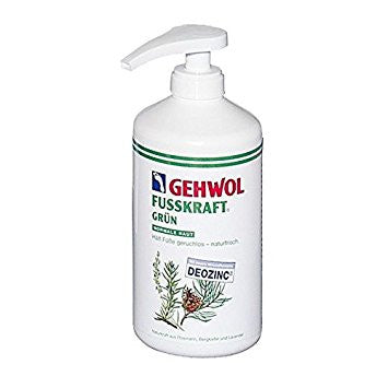 GEHWOL FUSSKRAFT GREEN with pump 500ml