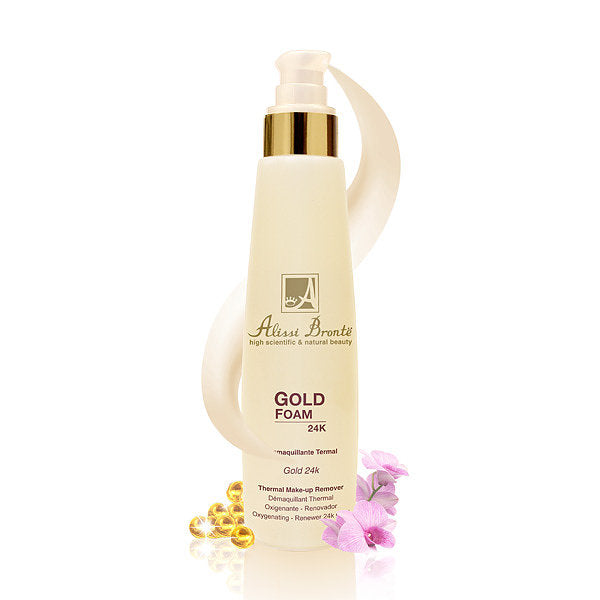 ALISSI BRONTE GOLD FOAM Thermal Make-up Remover 400ml