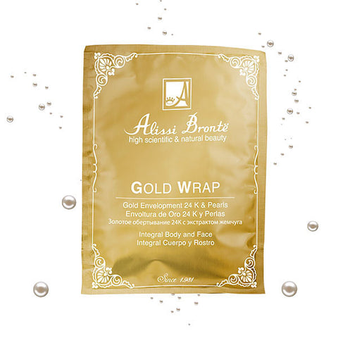 ALISSI BRONTE GOLD WRAP Gold 24K & Pearls Envelope 10pcs x 30g